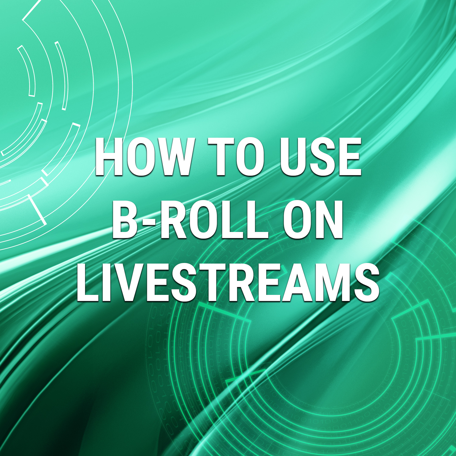 Read more about the article Using B-Roll On Livestreams